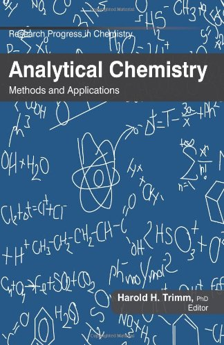 9781926692586: Analytical Chemistry: Methods and Applications (Research Progress in Chemistry)