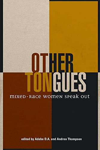 9781926708140: Other Tongues: Mixed-Race Women Speak Out (Inanna Poetry and Fiction Series)