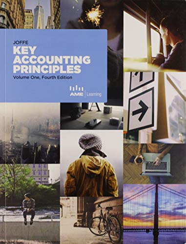 Key Accounting Principles Volume One, Fourth Edition: Neville Joffe