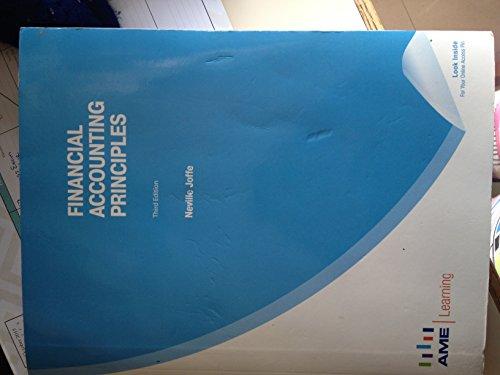 9781926751443: Financial Accounting Principles