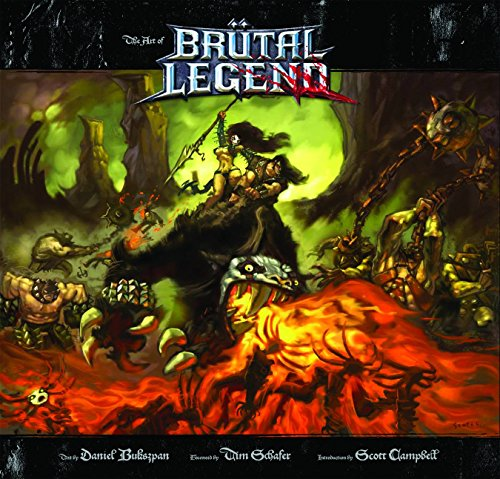 9781926778648: The Art of Brütal Legend