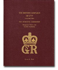 9781926797700: The British Campaign of 1777, Volume Two - The Burgoyne Expedition: Burgoyne's Native and Loyalist Auxiliaries