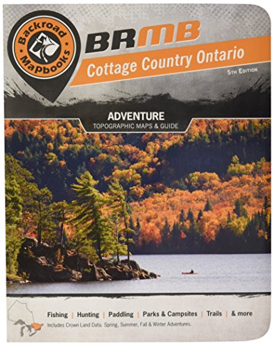 9781926806372: Cottage Country Ontario Backroad Mapbook (Backroad Map Books)