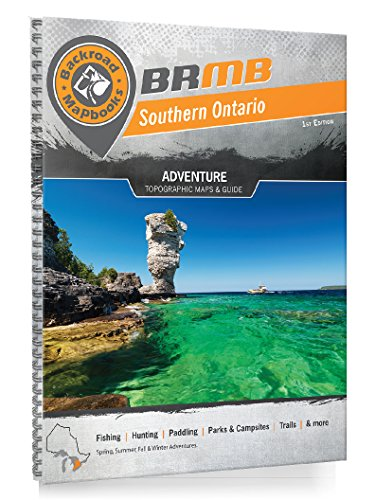 9781926806396: Southern Ontario Backroad Mapbook (Backroad Mapbooks)