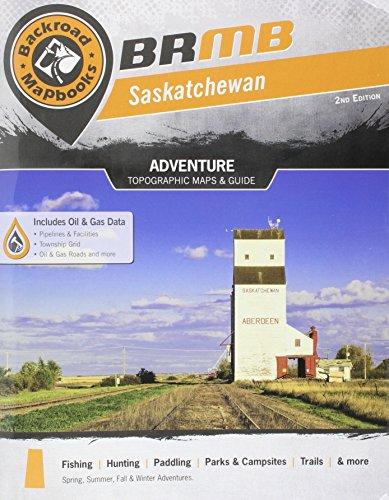 9781926806419: Saskatchewan Backroad Mapbook