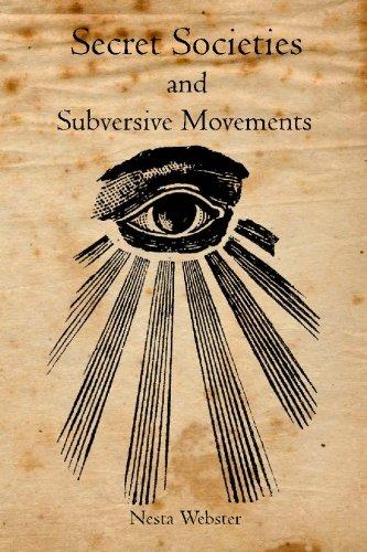 9781926842110: Secret Societies and Subversive Movements