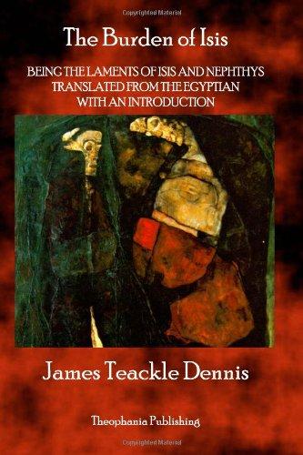 The Burden of Isis: James Teackle Dennis