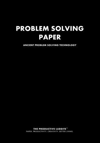 9781926892115: Problem Solving Paper: Ancient Problem Solving Technology