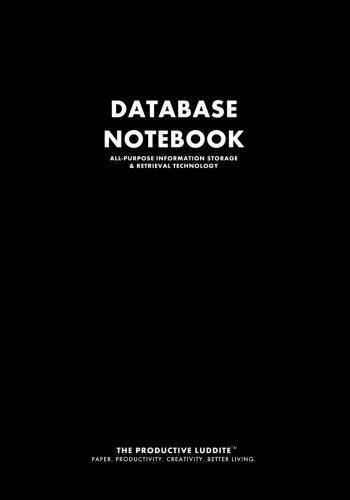 9781926892191: Database Notebook: All-Purpose Information Storage & Retrieval System
