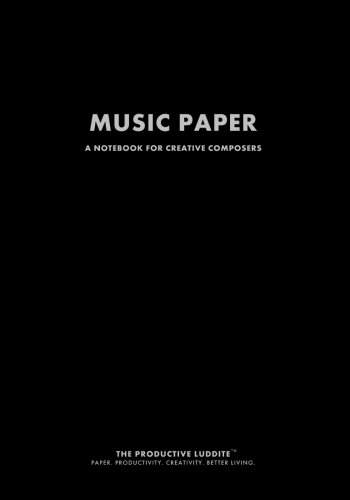 9781926892306: Music Paper: A Notebook For Creative Composers