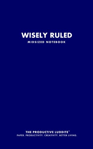 9781926892450: Wisely Ruled Midsized Notebook