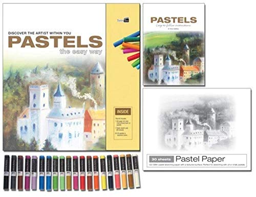 Pastels - The Easy Way: Discover the Artist within You (Art Studio) (1926905318) by Berrill, Philip