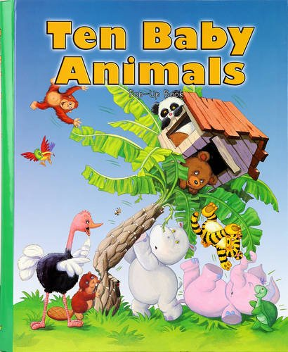 9781926905877: Ten Baby Animals: Pop-Up Book (Big Pop-Up Books)