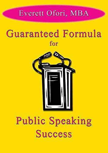 9781926918921: Guaranteed Formula for Public Speaking Success