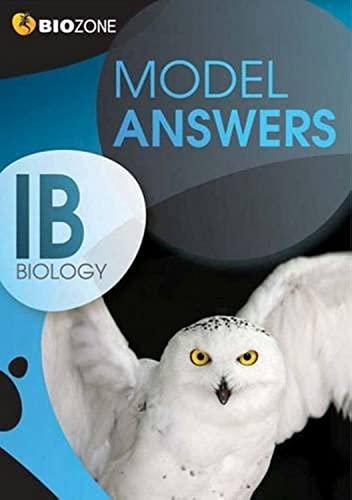 9781927173176: Model Answers IB Biology Student Workbook