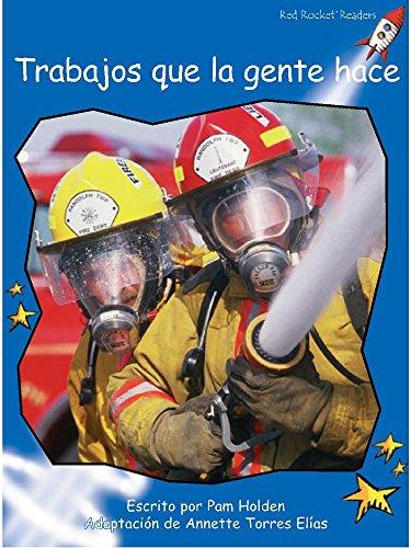 9781927197011: Trabajos Que La Gente Hace (Red Rocket Readers) (Spanish Edition)