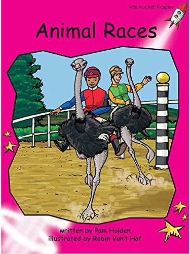 9781927197554: Animal Races (Red Rocket Readers)