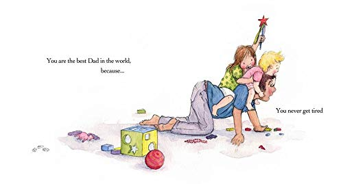 The Best Dad in the World (Hardcover): Patricia Chapman