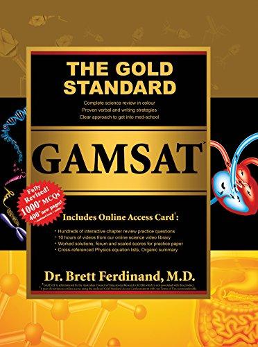9781927338285: The Gold Standard GAMSAT