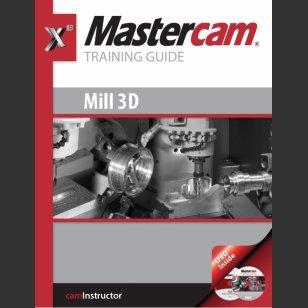 mastercam training guide mill by matthew manton abebooks rh abebooks com Lathe Mastercam X8 Mastercam Lathe Draw