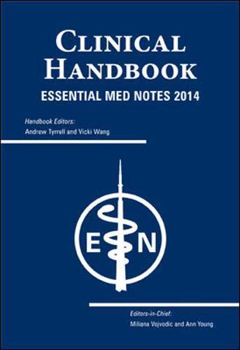 9781927363096: Essential Med Notes 2014 Handbook (Agency/Distributed)
