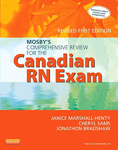 9781927406298: Mosby's Comprehensive Review for the Canadian RN Exam, Revised, 1e
