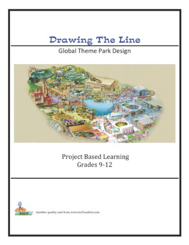 9781927434260: Drawing the Line; Global Theme Park Design Grades 9-12