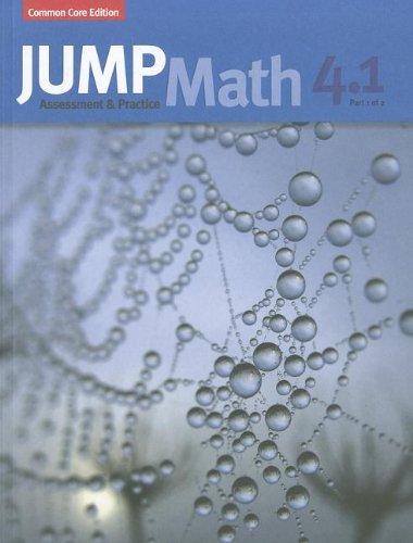 9781927454046: JUMP Math AP Book 4.1: US Common Core Edition