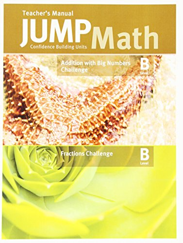 9781927457245: Teacher's Manual for Fractions Challenge B and Addition Challenge B (Confidence Building Units)