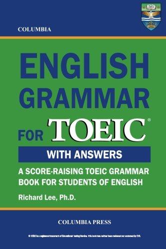 9781927647059: Columbia English Grammar for TOEIC