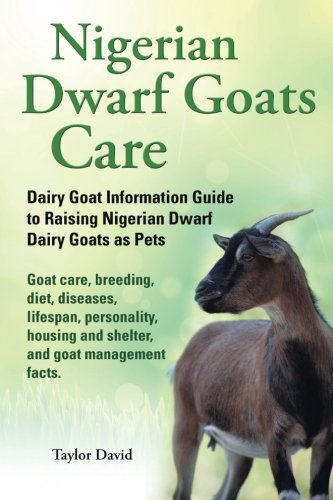9781927870013: Nigerian Dwarf Goats Care: Dairy Goat Information Guide to Raising Nigerian Dwarf Dairy Goats as Pets. Goat care, breeding, diet, diseases, lifespan, ... and shelter, and goat management facts.