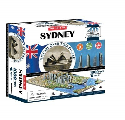 9781928143000: 4d Cityscape Sydney History Time: 1,000 Pieces