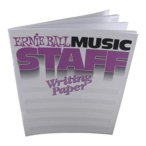 9781928571049: Music Staff Writing Paper