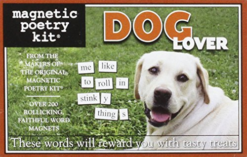 Magnetic Poetry: Dog Lover: Kapell, Dave
