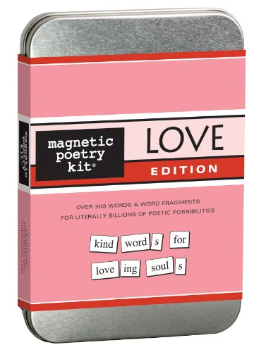 9781928576501: Love: Magnetic Poetry Kit