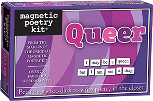 9781928576877: Queer Magnetic Poetry Kit