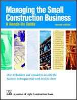 9781928580003: Managing Small Construction Business