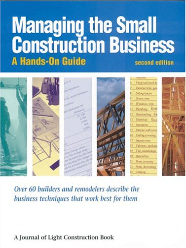 9781928580195: Managing the Small Construction Business