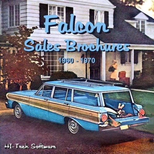 9781928618256: Ford Falcon Sales Brochures 1960 - 1970