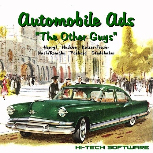 "Automobile Ads: ""The Other Guys""--HenryJ - Hudson"