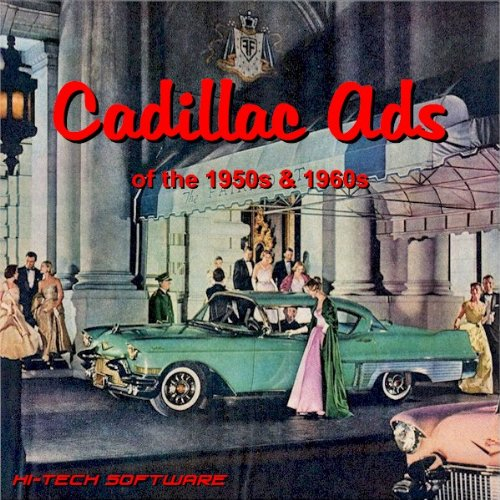 Cadillac Ads of the 1950s & 1960s: Harry W. Ilaria