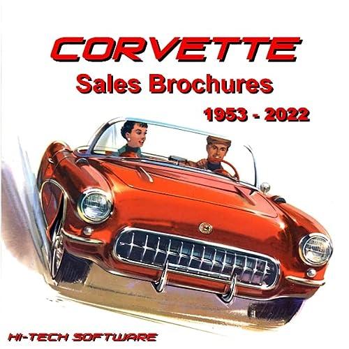 9781928618744: Corvette Sales Brochures 1953 - 2017