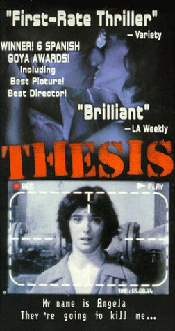9781928639008: Thesis [VHS] [Import USA]
