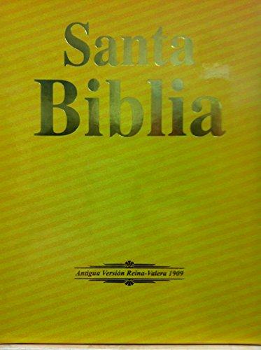 9781928686071: Biblia Antigua Version Reina Valera 1909