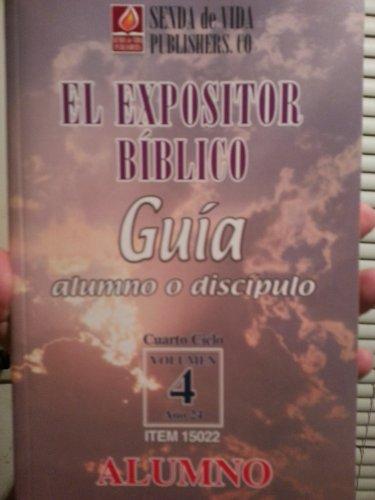 9781928686415: El Expositor Biblico: Guia para el alumno o discipulo Vol. 14