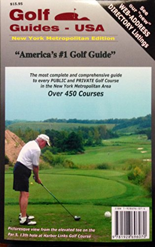 9781928696070: Golf Guides USA: New York Metropolitan Edition