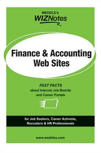WEDDLE's WIZNotes: Finance & Accounting Web Sites: Fast Facts About Internet Job Boards ...