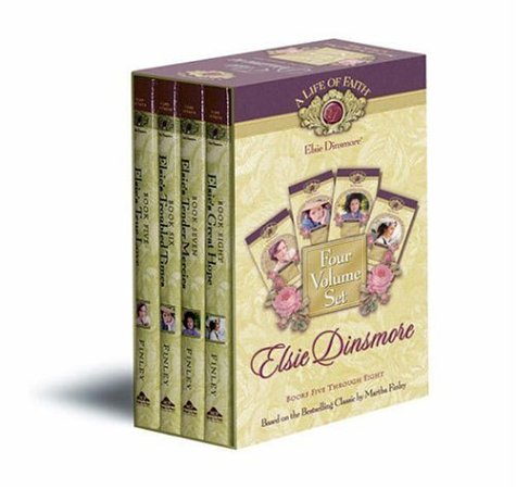 Elsie Dinsmore Boxed Set, Books 5-8 (Life: Martha Finley