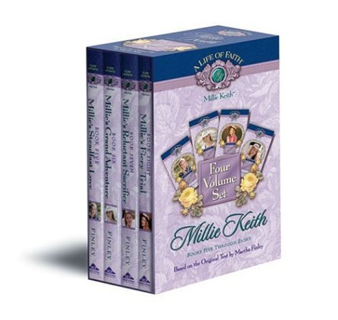 Millie Keith Boxed Set, Books 5-8 (Life: Martha Finley