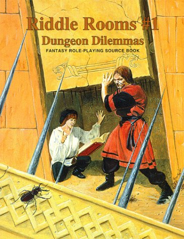Riddle Rooms #1 - Dungeon Dilemmas (Riddle Books & Adventures)